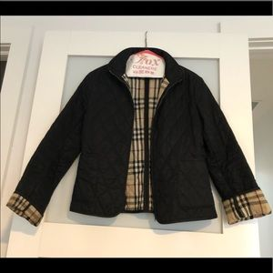 Women's Authentic Burberry Quilted Jacket